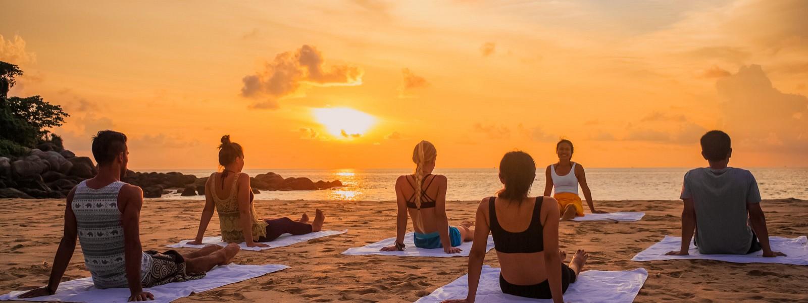 Yoga Retreat in CC's Hideaway, Phuket